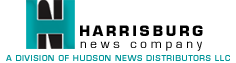 Harrisburg News Company. A Division of Hudson News Distributors LLC.